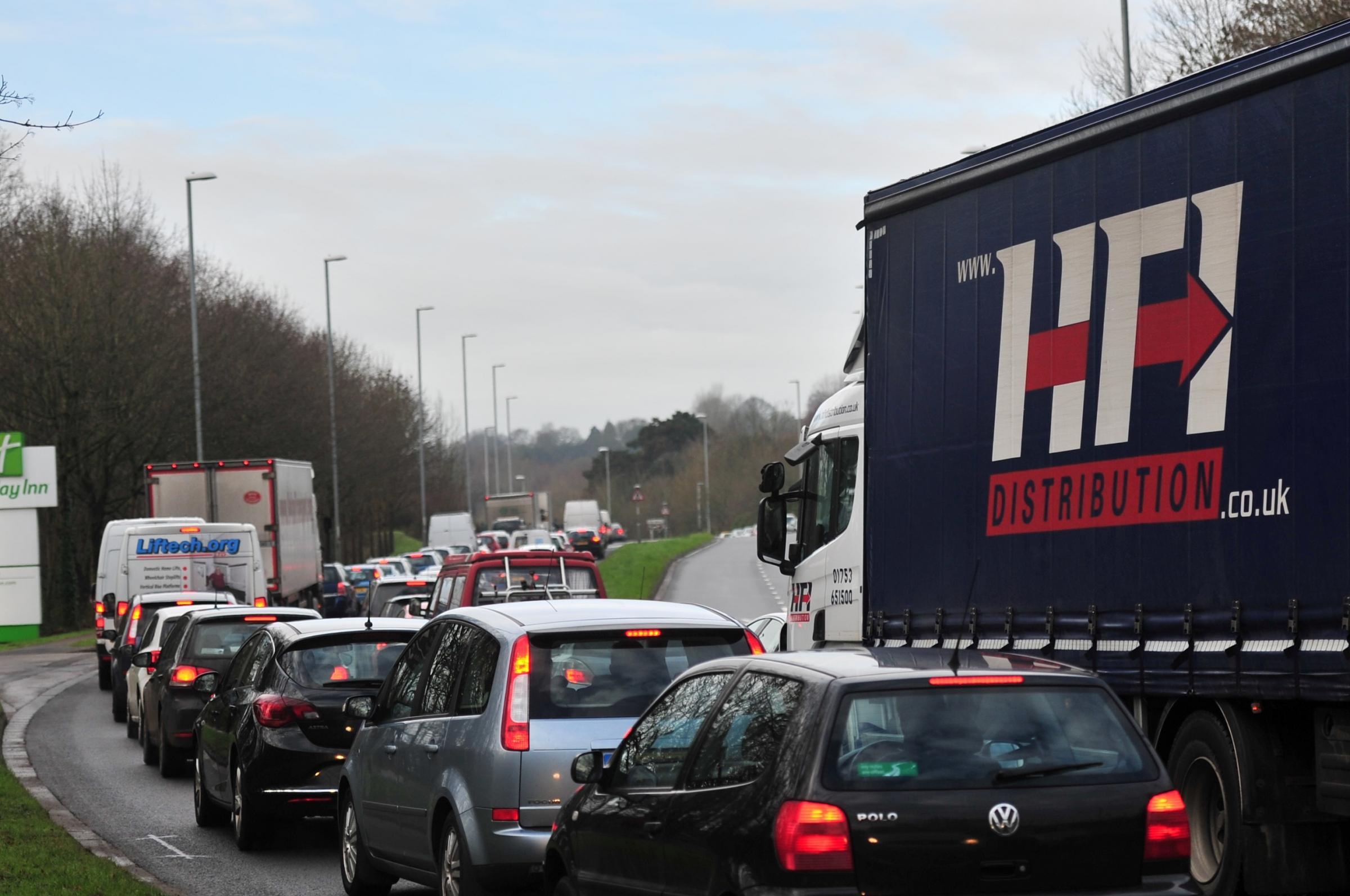 More calls for Newport relief road after M4 traffic chaos