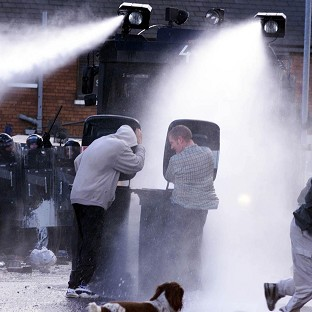 Police set to ask for water cannon