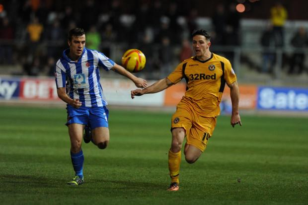 South Wales Argus: Peterborough United bid for Newport County striker Conor Washington