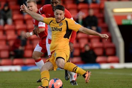 WANTED MAN: Newport County striker Conor Washington