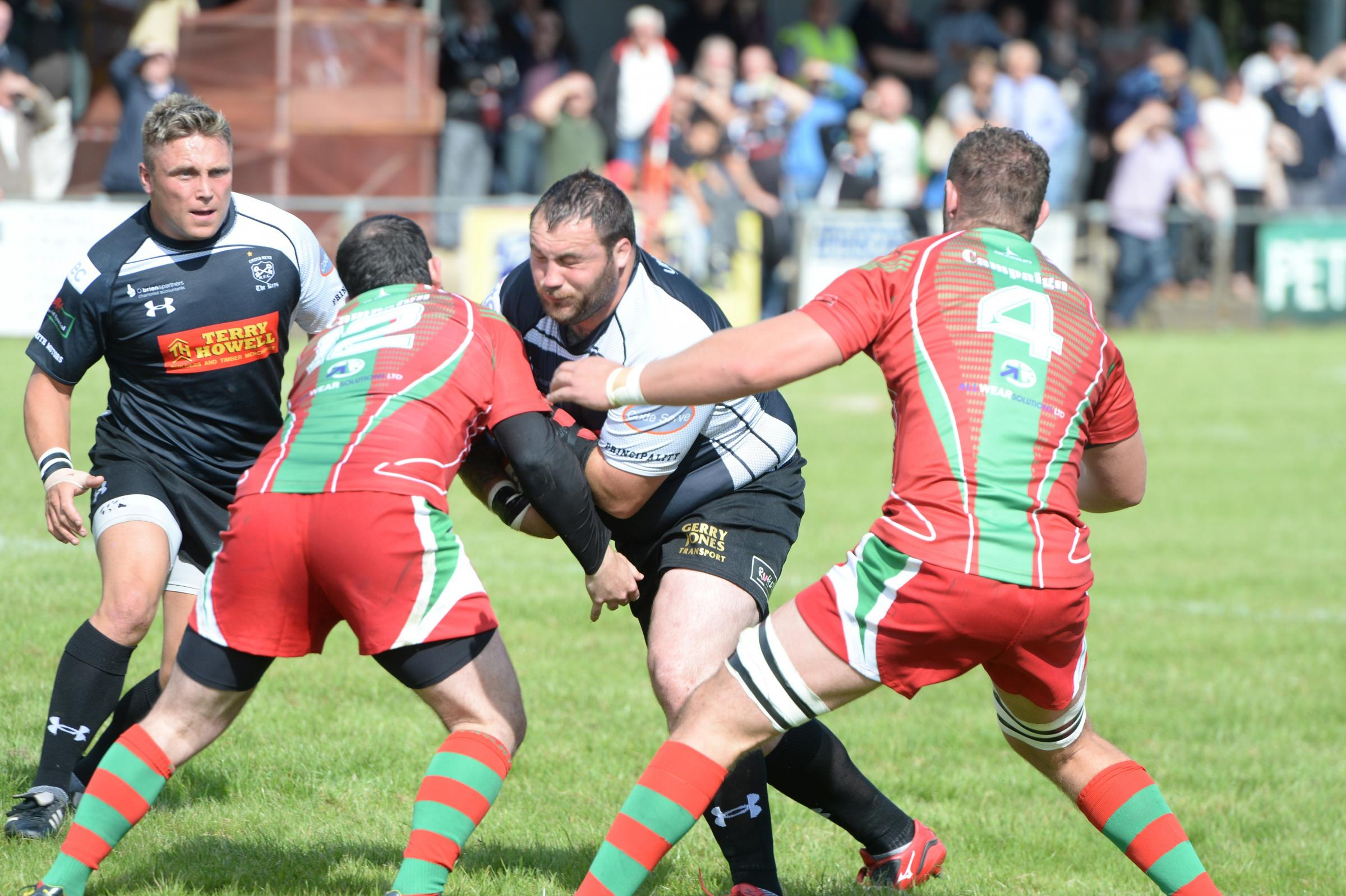 Keys and Bedwas ready for first match of 'series'