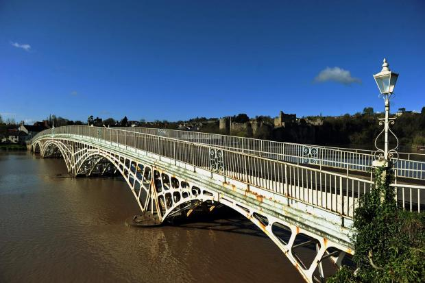 South Wales Argus: USED SWA ST 26/04/2013Picture of the day - The Wye Bridge in Chepstow (3614140)