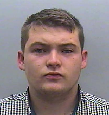 JAILED: Sex attacker Benjamin Colley of York Place, Newport, who laughed in his victim's face and tried to silence her with threatening messages was jailed for 16 months