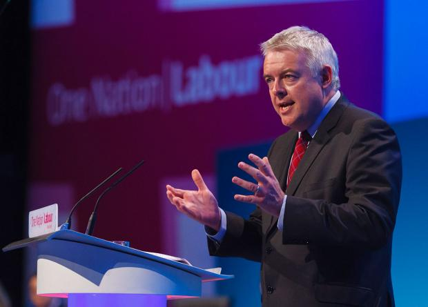ANNOUNCEMENT: First Minister Carwyn Jones unveiled the £1.4 billion scheme for schools