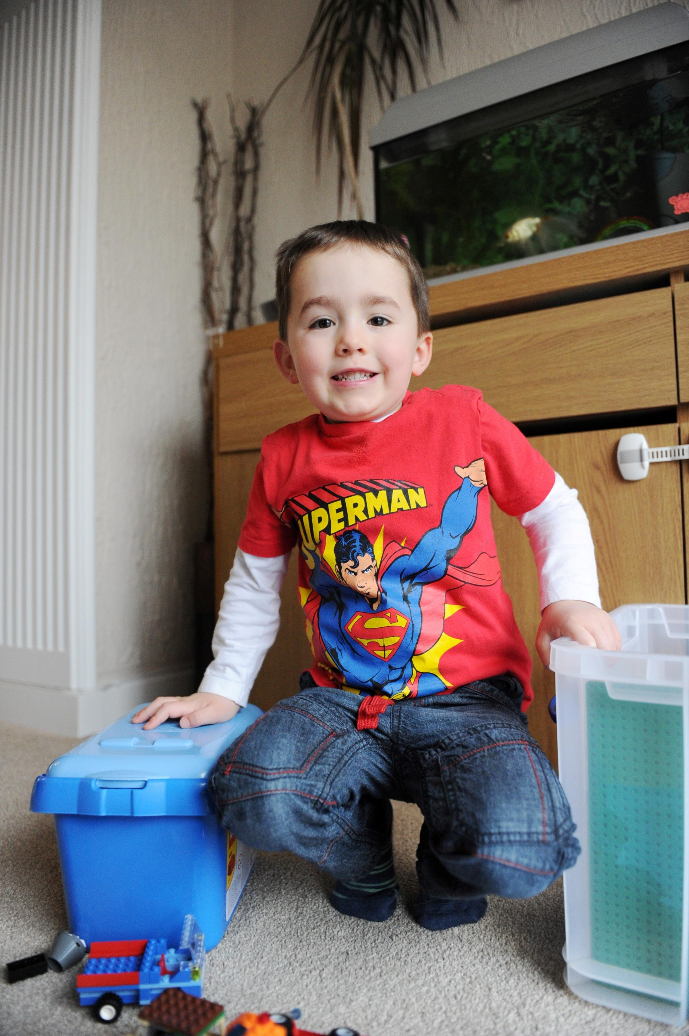 Battling Newport boy, 3, makes full recovery after heart surgery