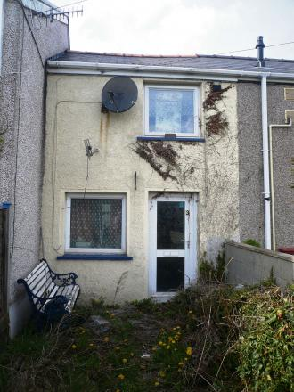 The house on King Street, Brynmawr was sold for £15.5k