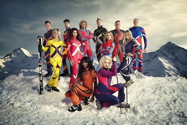 THE JUMP: Television's latest attempt to dismember minor celebrities in a series of winter sports. Photo: Channel 4/PA Wire