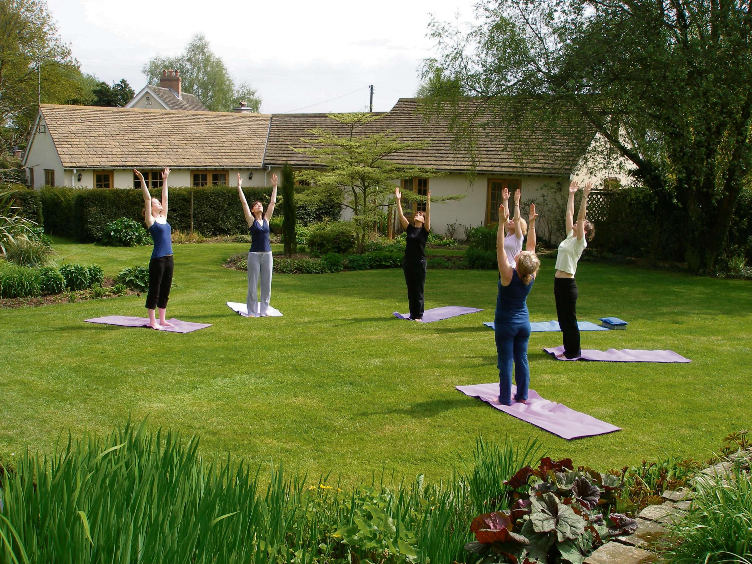 IT'S THE WEEKEND: Relaxing the body and mind with the yoga practitioners of Gwent