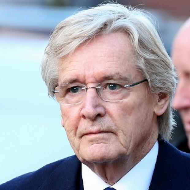 South Wales Argus: Coronation Street's Ken Barlow, actor William Roache, arrives at Preston Crown Court