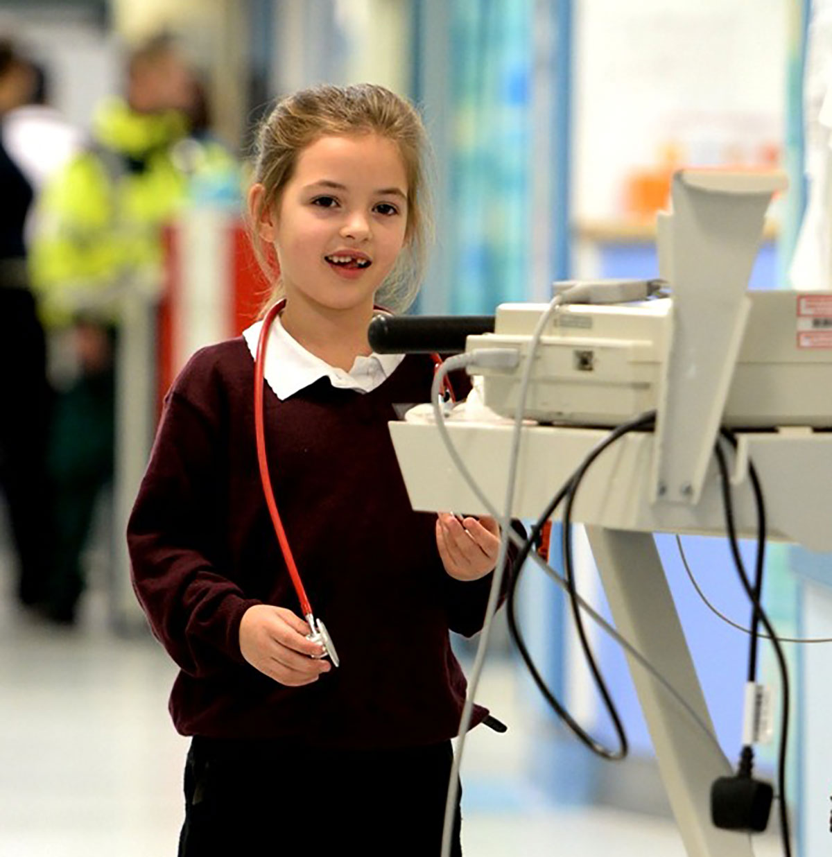 Newport girl, 6, fronts Gwent NHS video