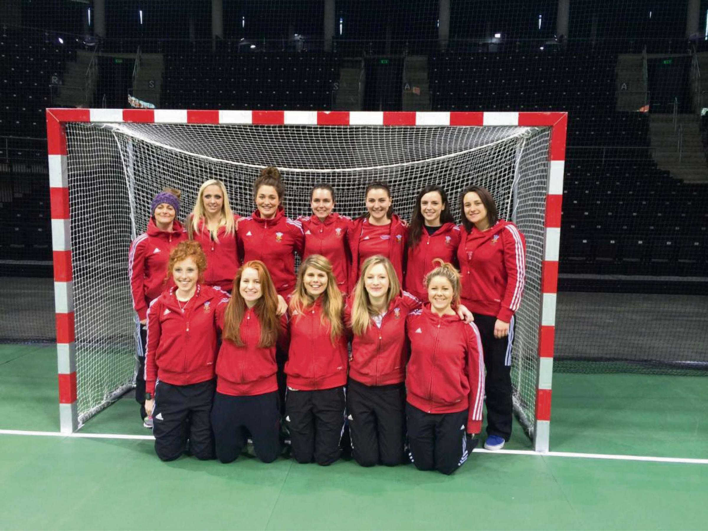 FUNDRAISING: Wales women's hockey team have high hopes for Glasgow 2014