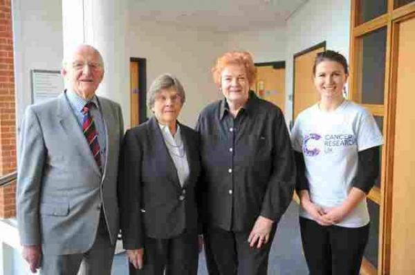 Newport's £750k cancer fundraisers honoured