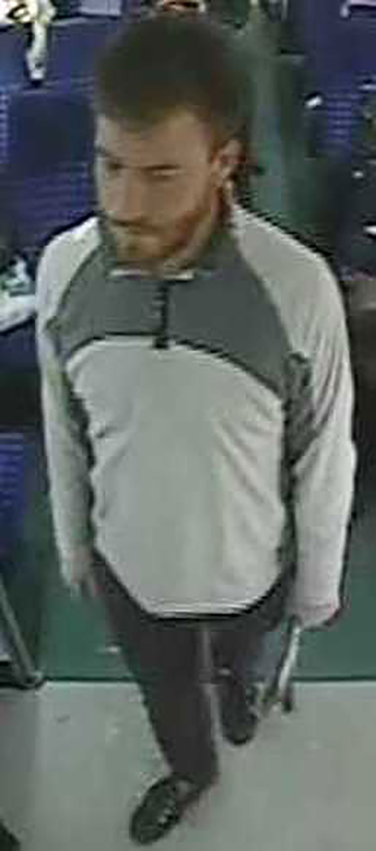 APPEAL: British Transport Police released this CCTV still