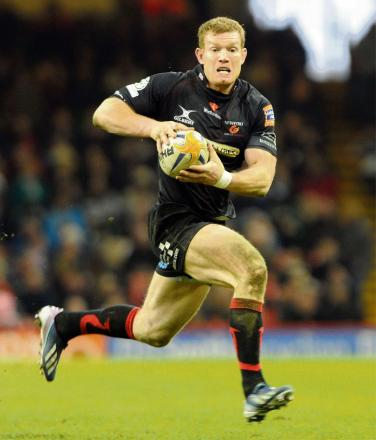 BIG GAME: Dragons centre Pat Leach is ready for a tough test in Dublin on Friday