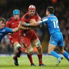 South Wales Argus: HE'S BACK: Wales and former Dragons lock Luke Charteris