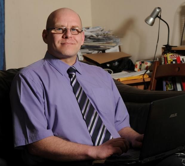 PLEASE GIVE ME A CHANCE: David Green, from Newport, is unable to get a job after hundreds of applications