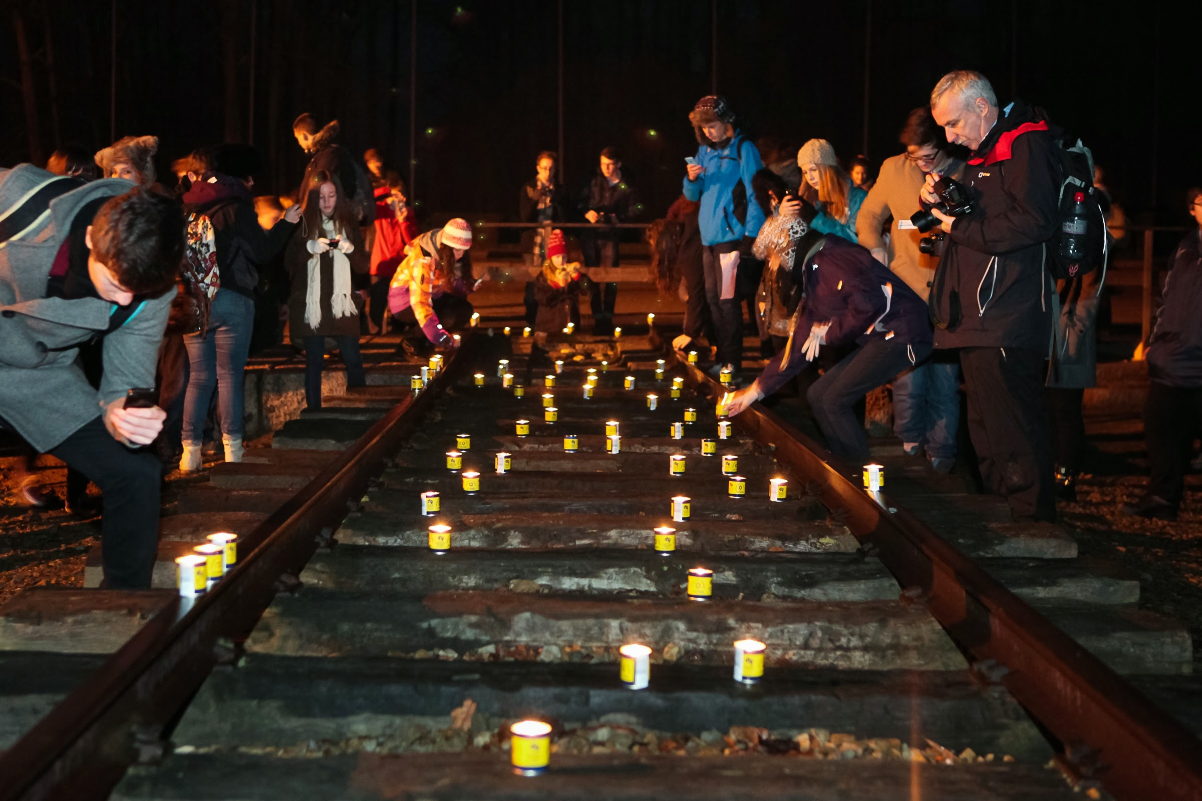 Gwent pupils walk in footsteps of Auschwitz victims