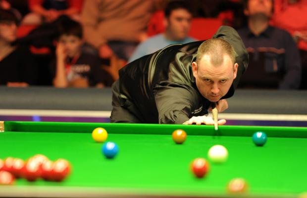 DISAPPOINTMENT: Cwm's Mark Williams is out of the Welsh Open