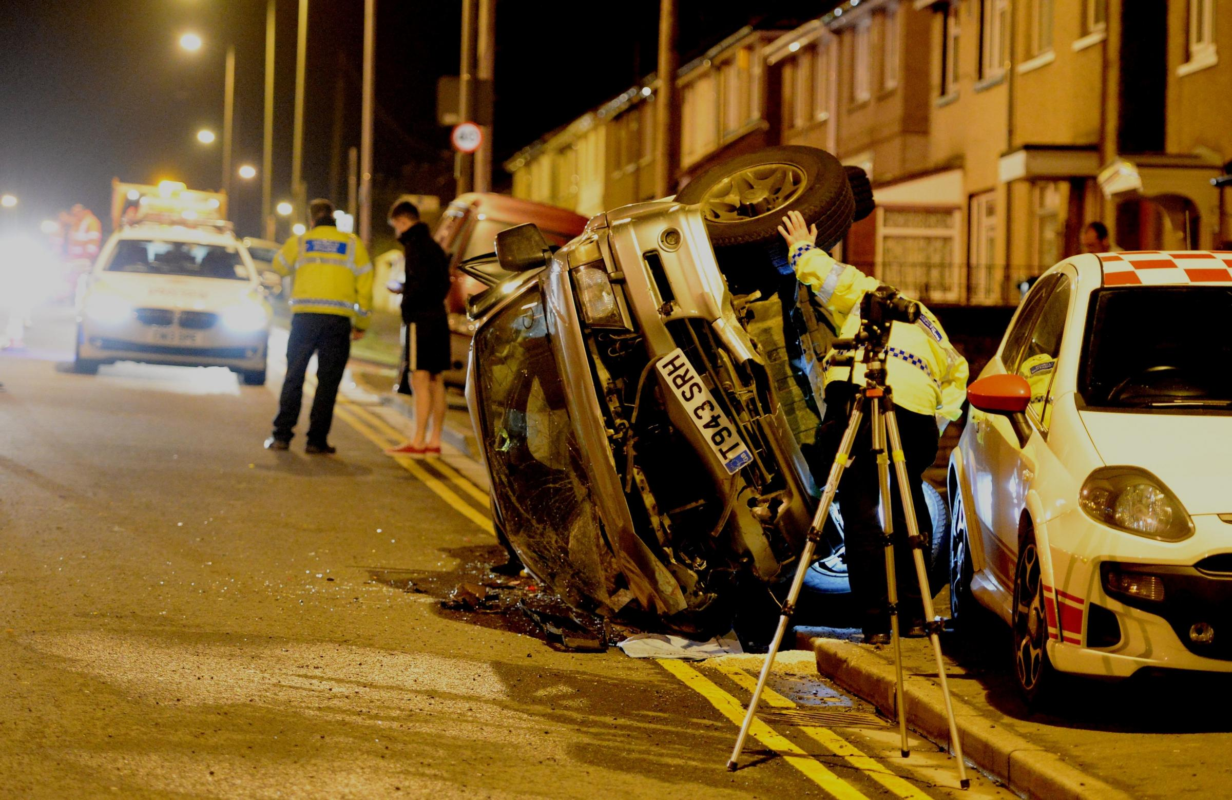 Homeowner's classic car written off in Malpas Road crash