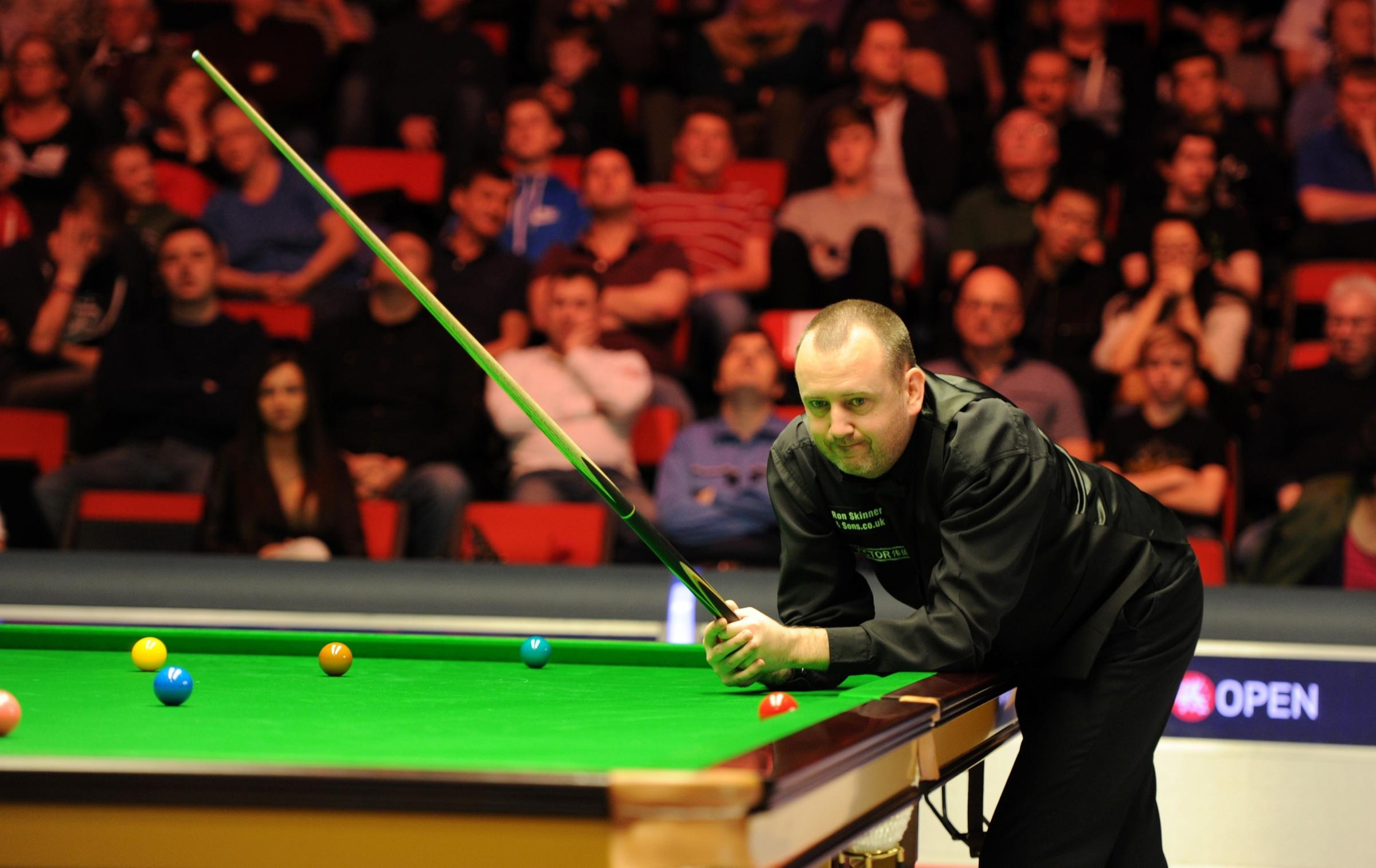BLOW: Mark Williams will miss out on the Crucible after defeat in qualifying