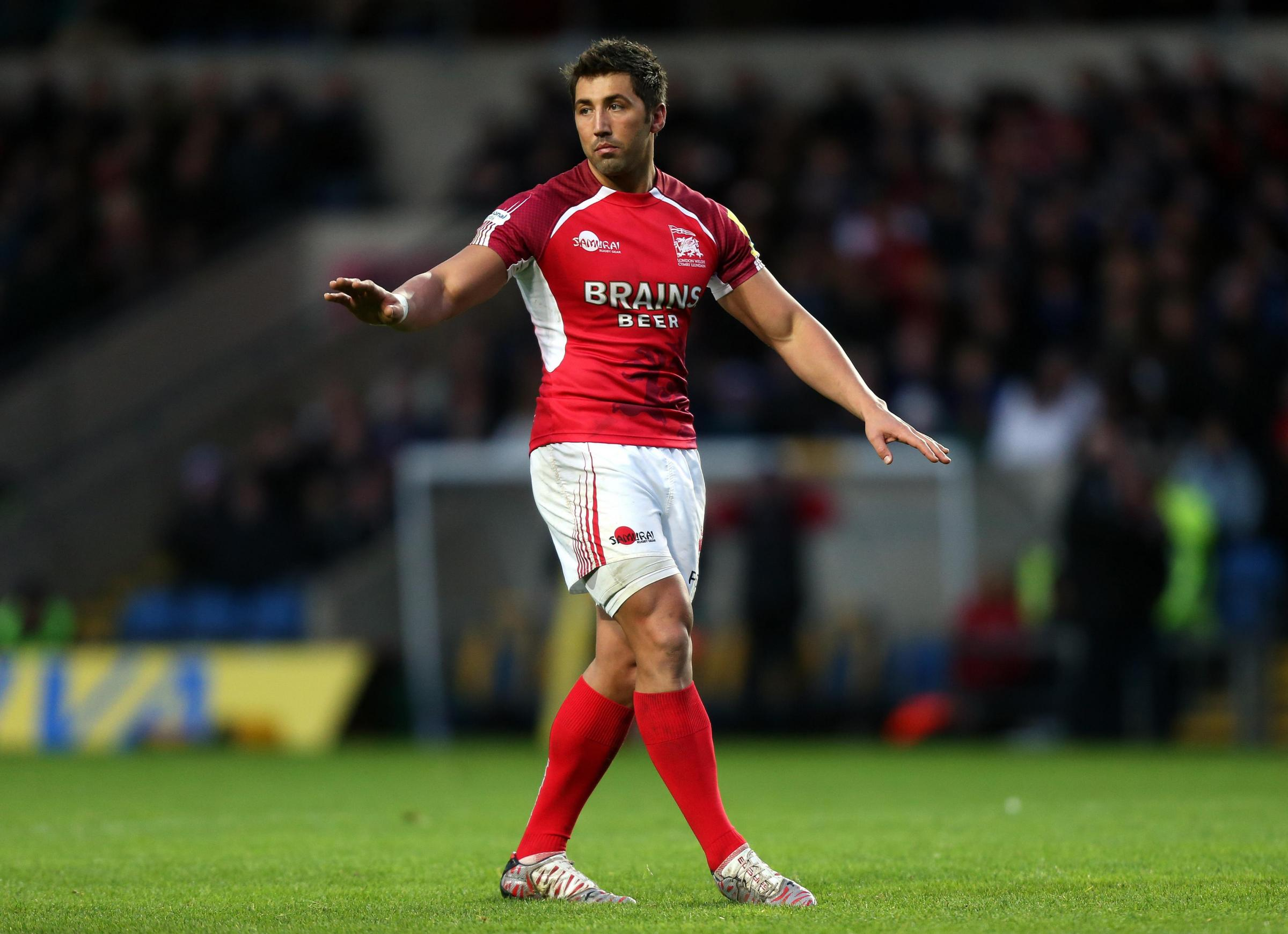 ON WAY TO DRAGONS? Gavin Henson