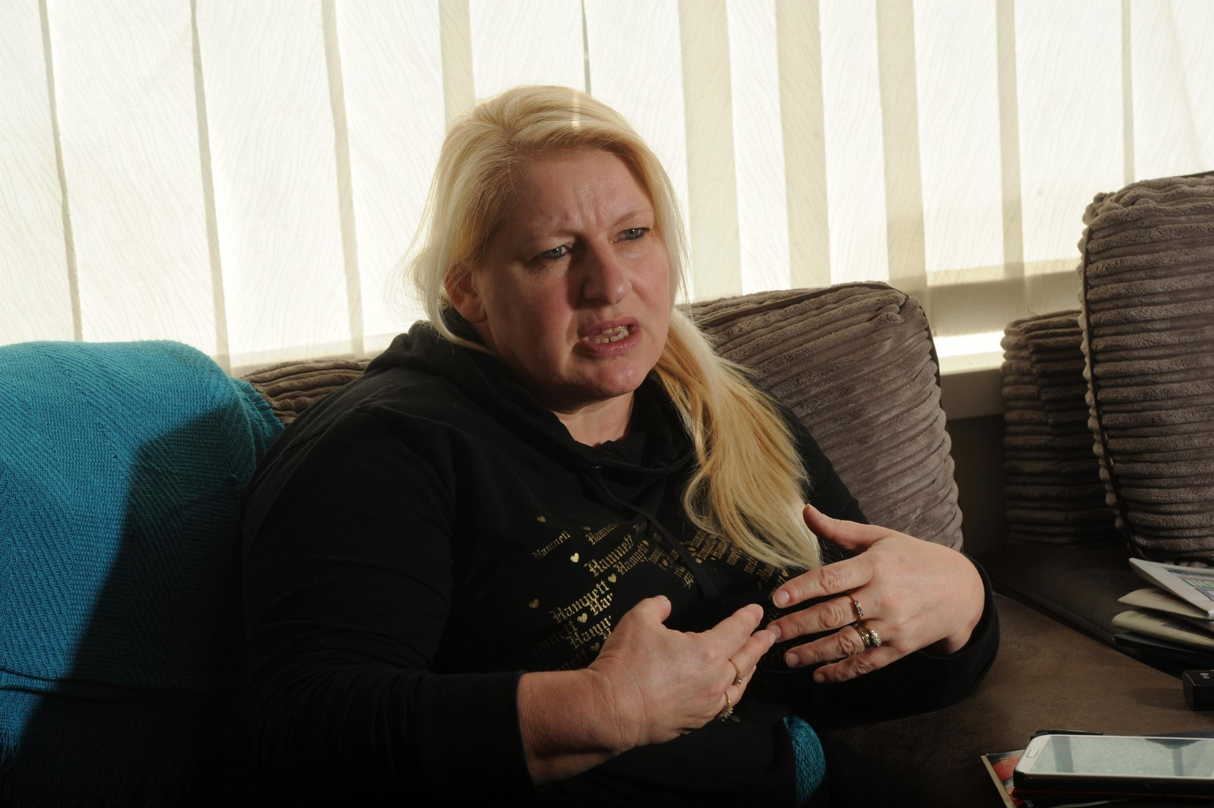 Outraged Cwmbran mum in plea for tougher penalties