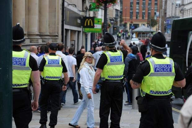 Gwent sees largest violent crime rise in England and Wales