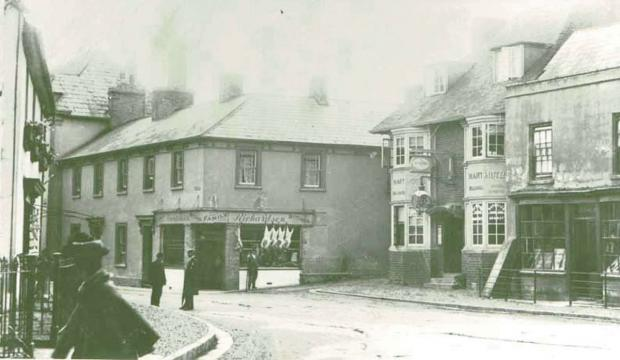 South Wales Argus: NOW AND THEN: High Street, Caerleon
