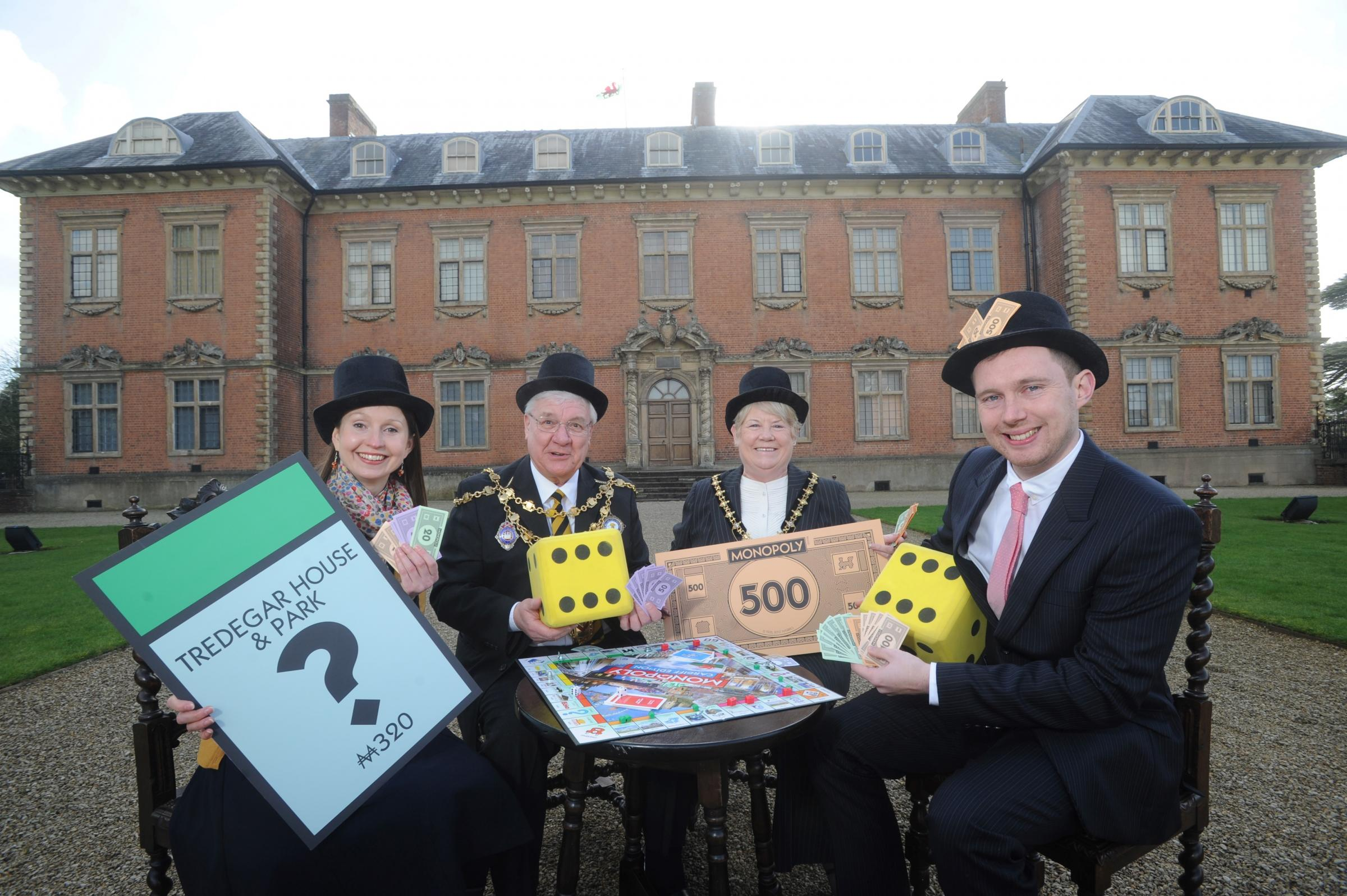 You can decide what goes on Newport Monopoly board