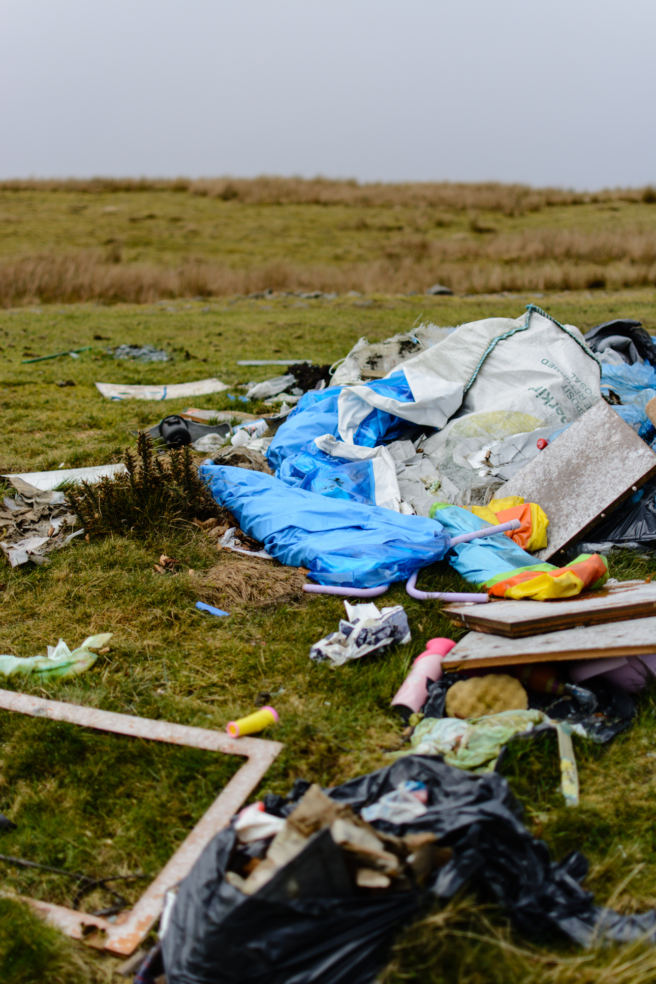 Pontypool hills blighted by 'horrendous' fly-tipping