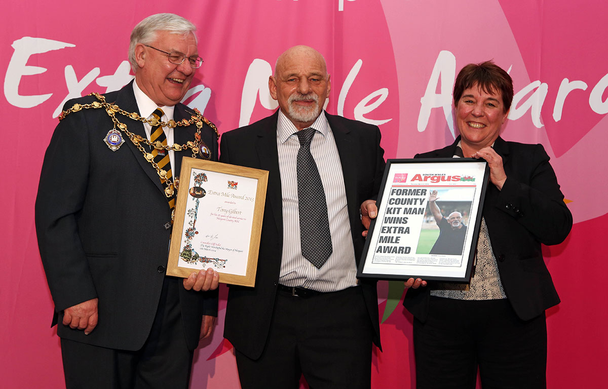 Newport people honoured for going the extra mile