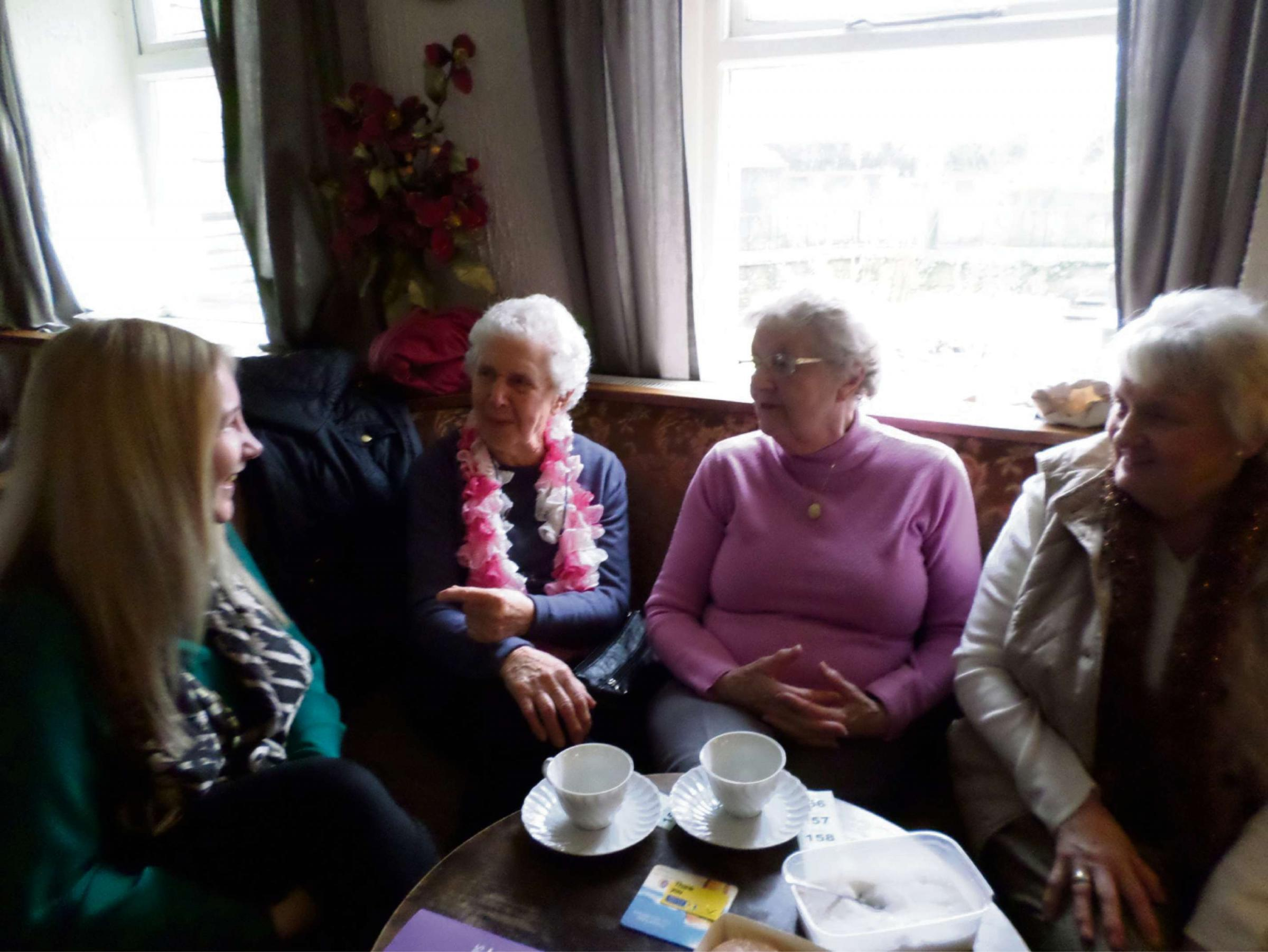 Abercarn group praised for pensioner power