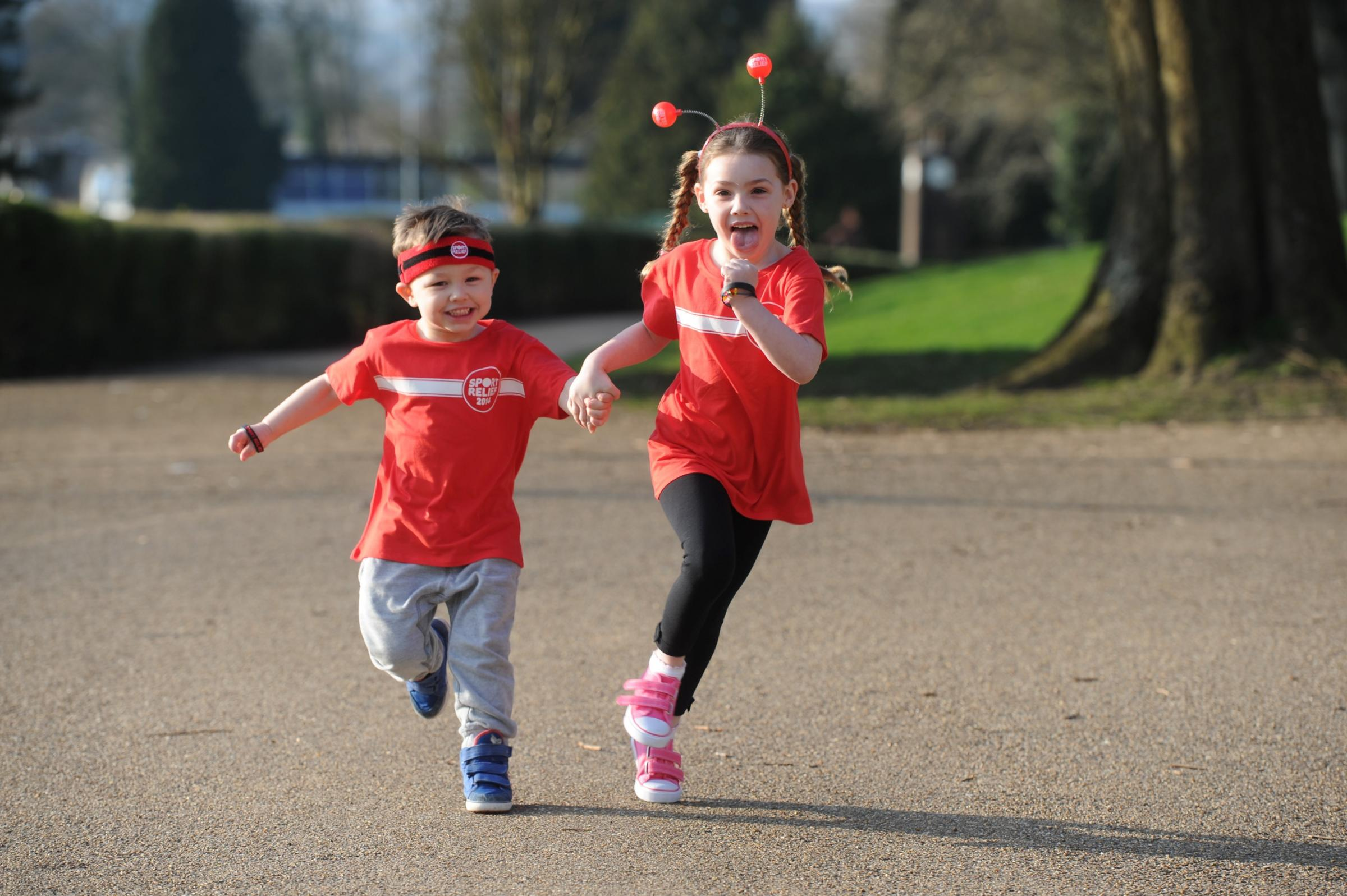 Sign yourself up for Cwmbran Sport Relief Mile