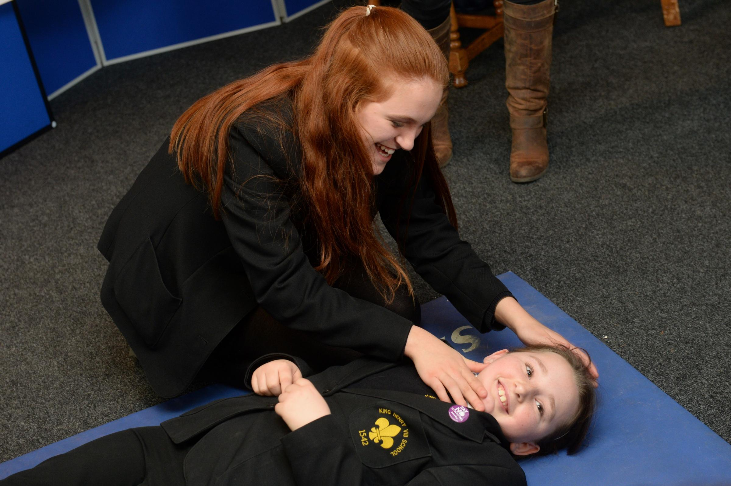 Abergavenny pupils get safety lessons