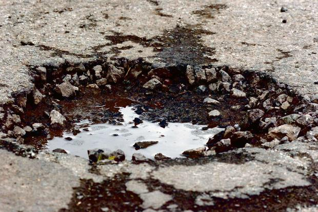 Wales potholes will take '12 years to fill'