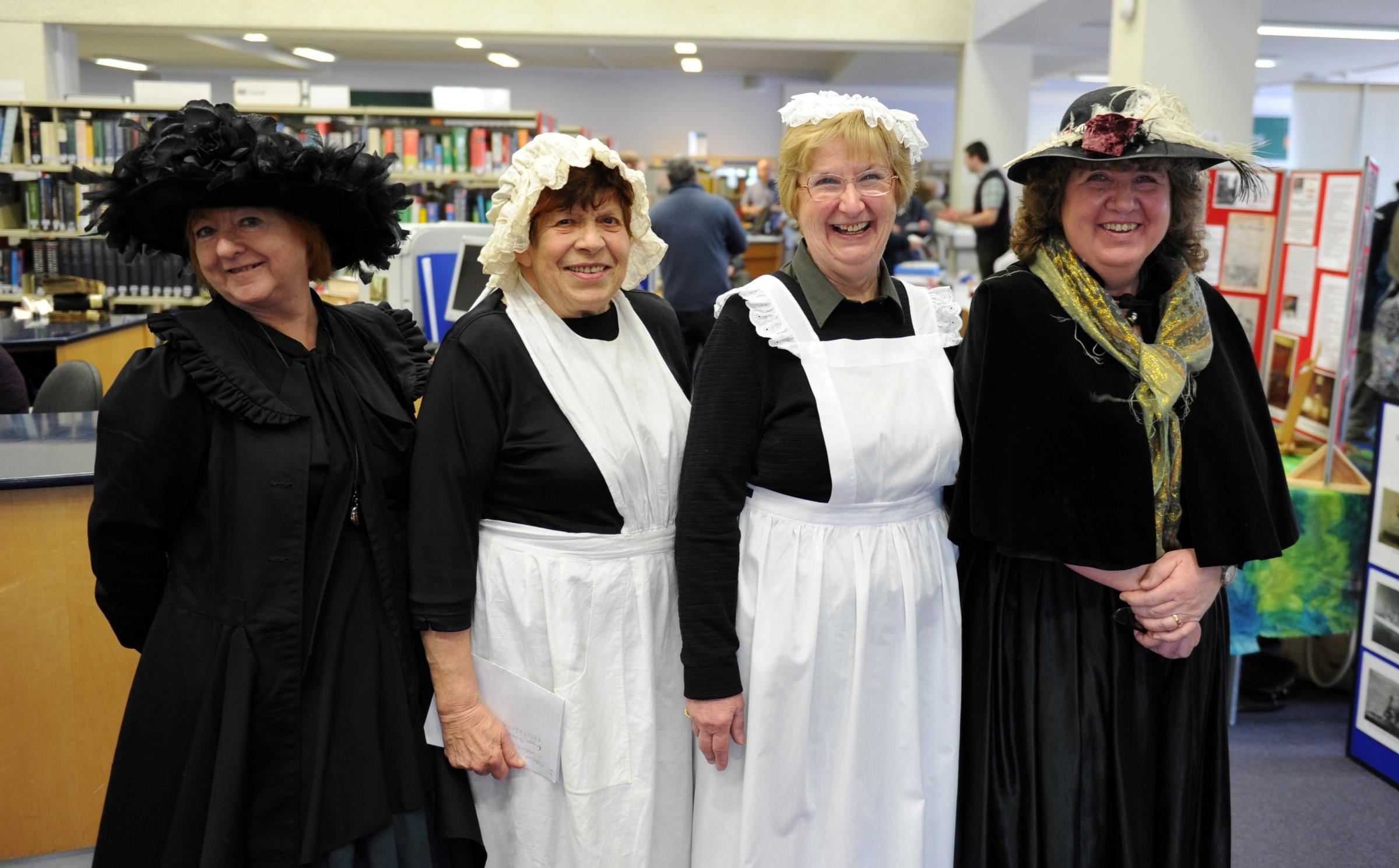 History day gives lesson on Newport's past