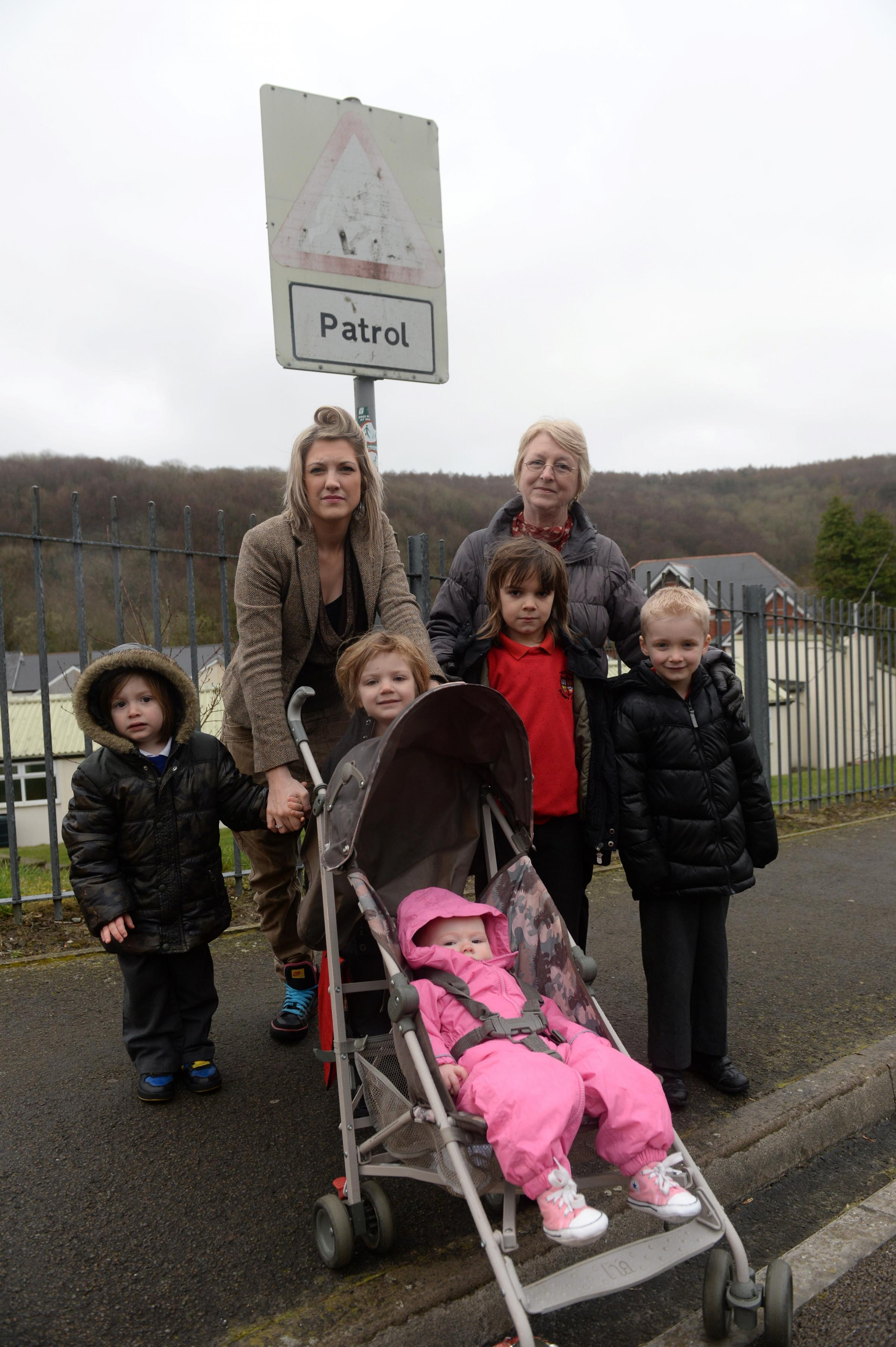 Torfaen parents' anger at crossing plan