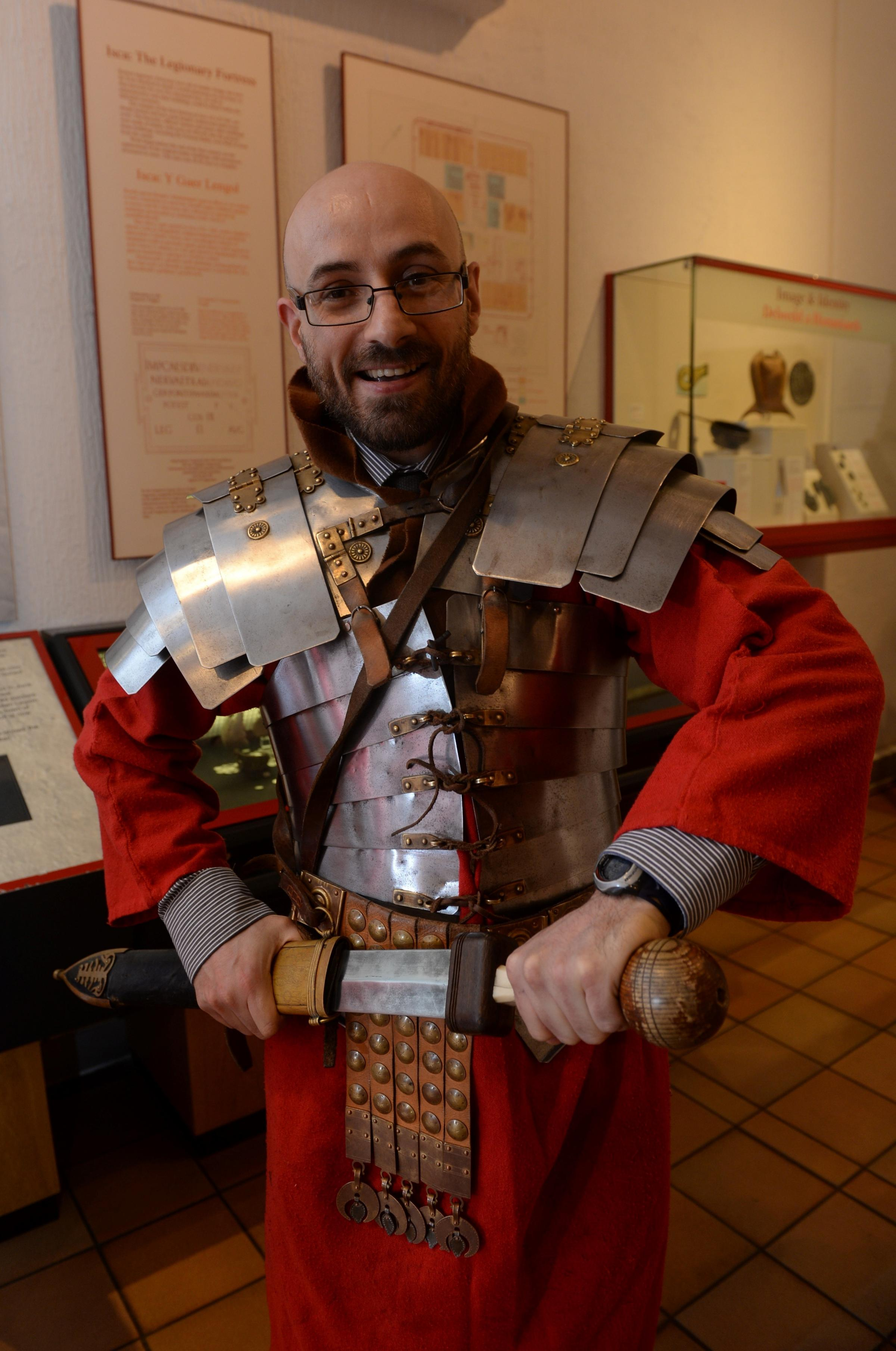 WORK EXPERIENCE: Argus man re-enacts Roman life at Caerleon museum