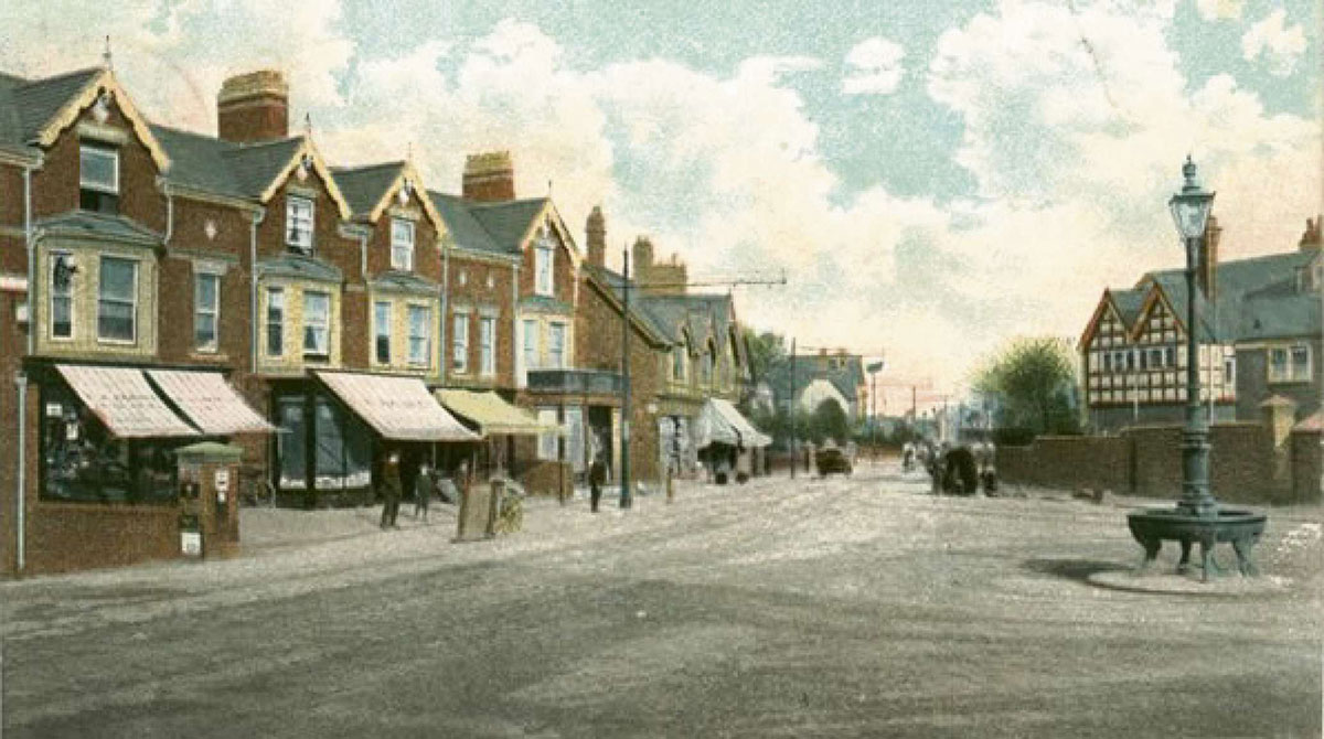 NOW AND THEN: The Handpost, Newport