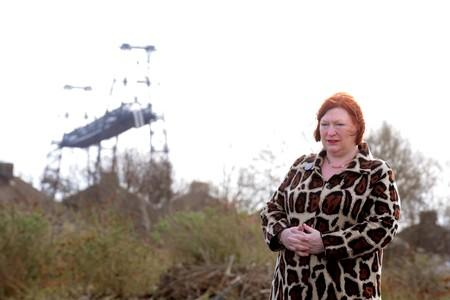 Economy Minister Edwina Hart at the launch of the affordable housing scheme at the former Whiteheads steel site in Newport (8315963)