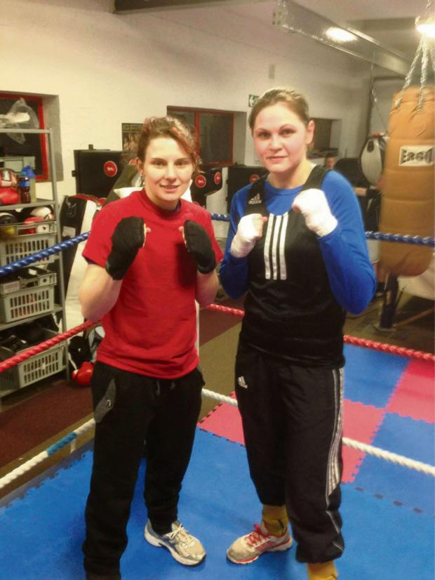 South Wales Argus: FINAL COUNTDOWN: Torfaen Warriors pair Ashley Brace and Becky Price