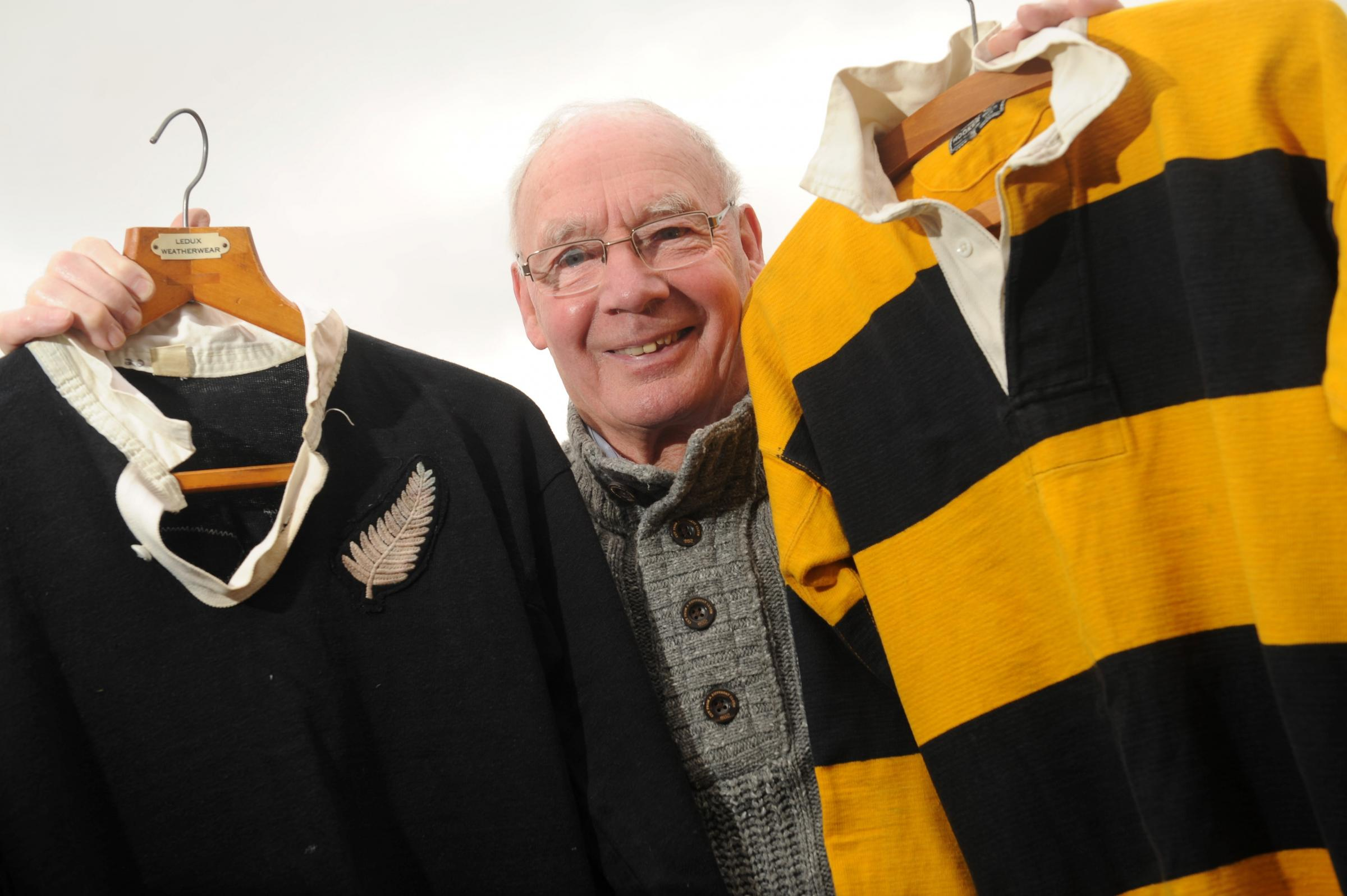 FIRST PERSON: Newport rugby hero, Dennis Perrott