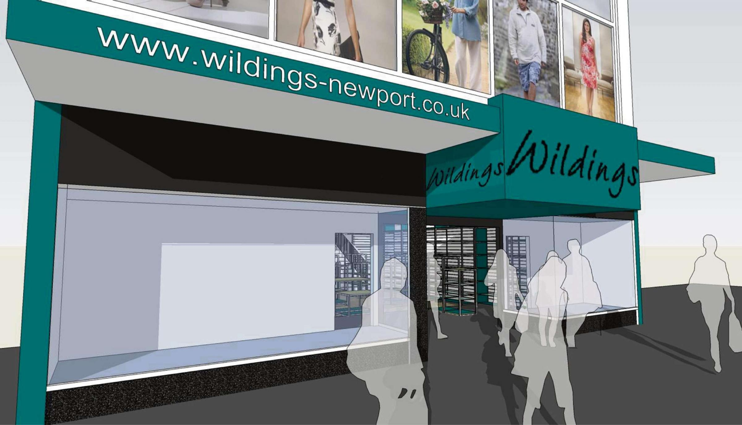 Makeover for Newport department store