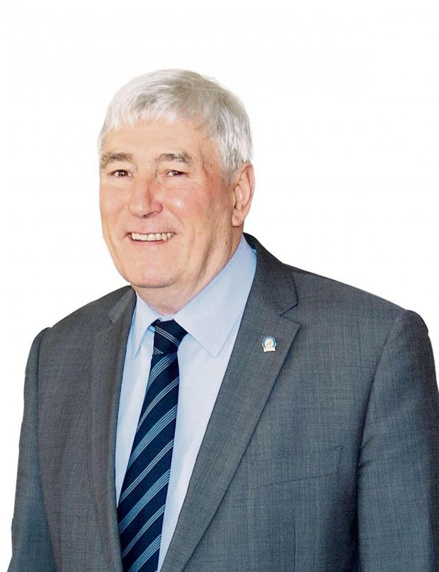 South Wales Argus: ELECTED: Cllr Bernard Willis will replace current mayor Mostyn Lewis on May 8, at Blaenau Gwent council's annual general meeting.