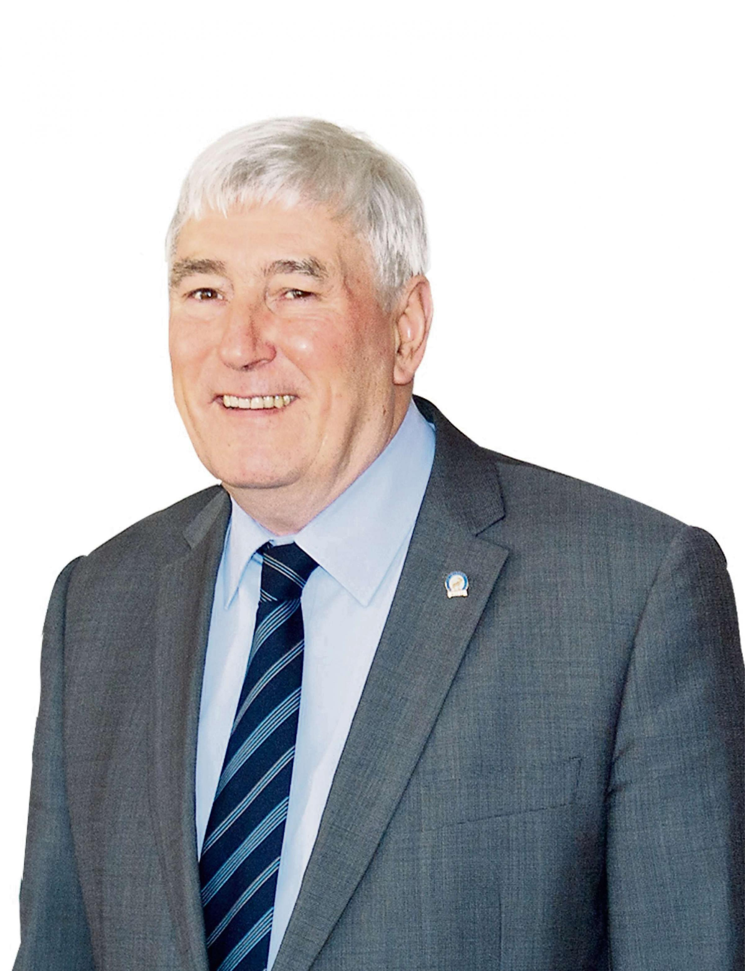 ELECTED: Cllr Bernard Willis will replace current mayor Mostyn Lewis on May 8, at Blaenau Gwent council's annual general meeting.