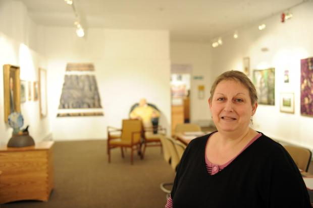 In the last 12 years, Pontypool Museum has been able to to match the core funding given to it.  With exteme cuts to budget they are in need of help to sustain the venue.  Pictured in the Barker Gallery is museum currator Deborah Wildgust. (3875193)