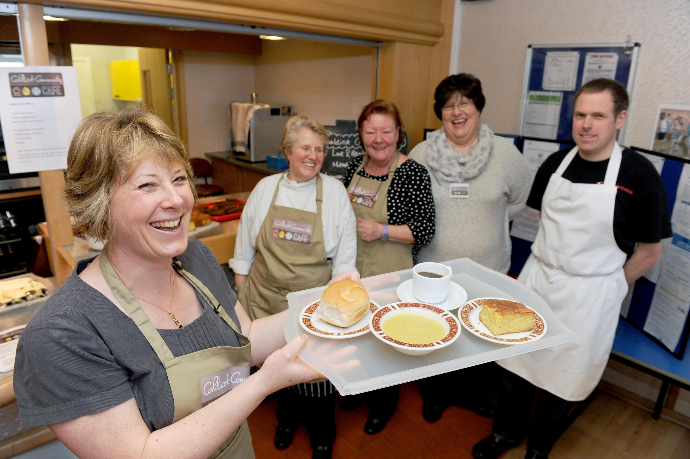 Community cafe opened in Caldicot