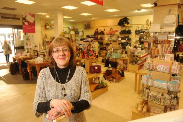 MAKEOVER: Wildings store manager Sally Ford