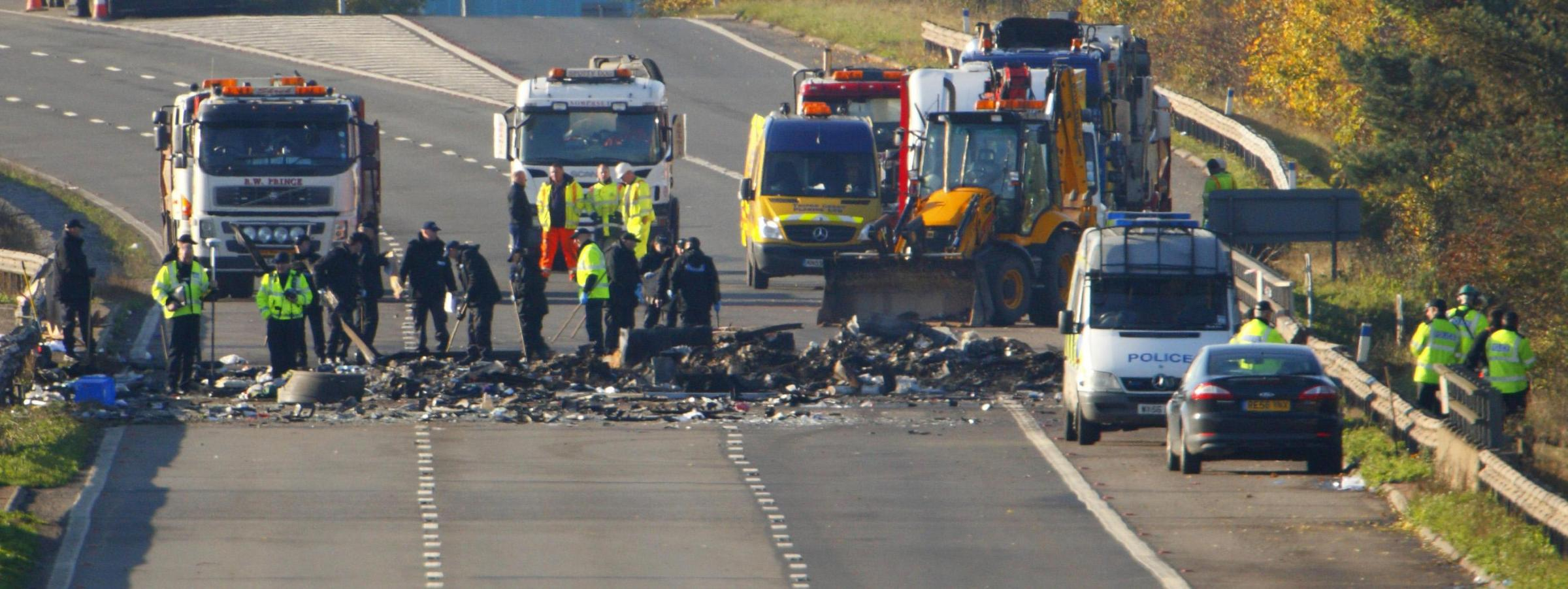 'Fireworks may have distracted drivers' - M5 death crash inquest