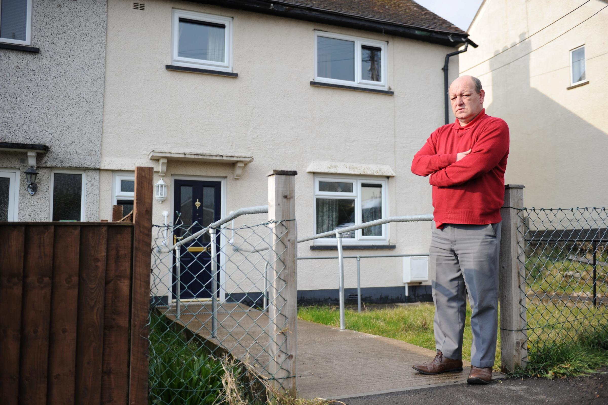 Bereaved Cwmbran man faces bedroom tax move